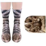 Cat Paw Socks And Other Animals