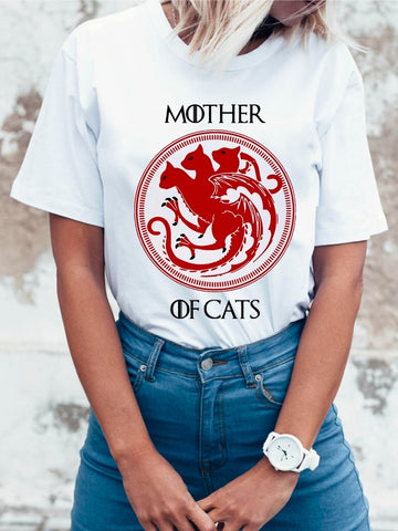 New Mother Of Cats Designs Funny T-Shirts