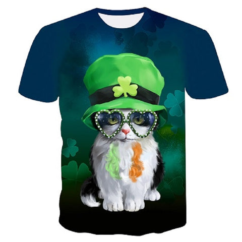 Four Seasons Womens Cat T-Shirts