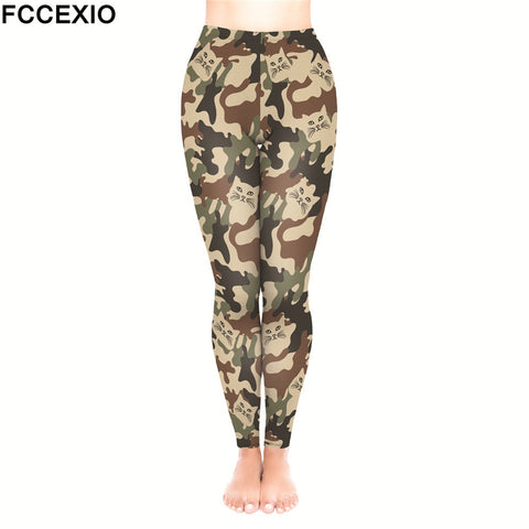 Cat Camouflage Classic Leggings