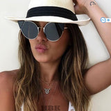 Beach Time Cute Cat Eye Sunglasses