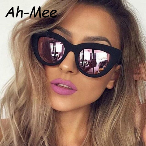 Retro Fit Designer Cat Eye Sunglasses