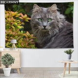 Cat Wall Hanging Tapestry Beach Blanket