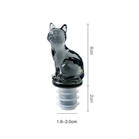 Food Grade Cat Wine Bottle Stopper And Other Designs