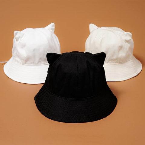 Summer Cat Ears Sunhat