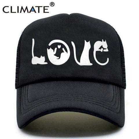 Cat Lover Trucker Caps
