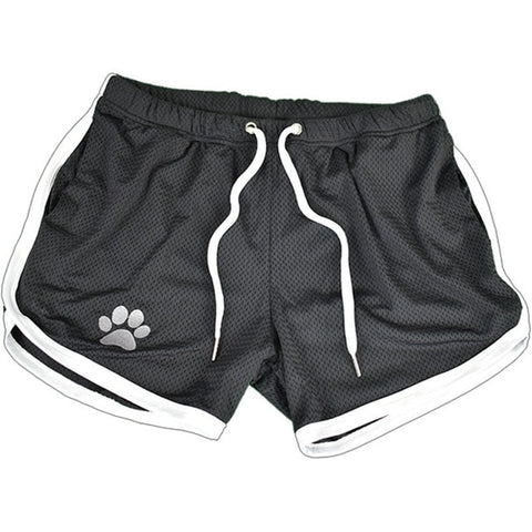 Mens Breathable Drawstring Paw Shorts