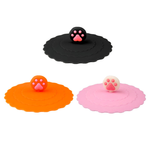 Keep Cat Paws Out Of My Drink With This Cute Cat Silicone Cup Cover - Cats Love Life
