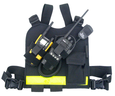 Dual-Twin Radio Chest Harness
