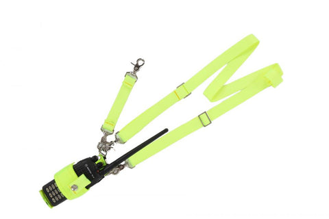 HiViz Radio Case/Shoulder Strap/Tether Strap Combo