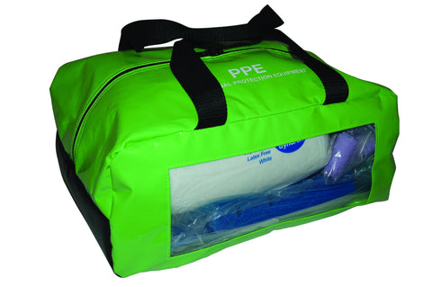 PPE Bag-Lime Green
