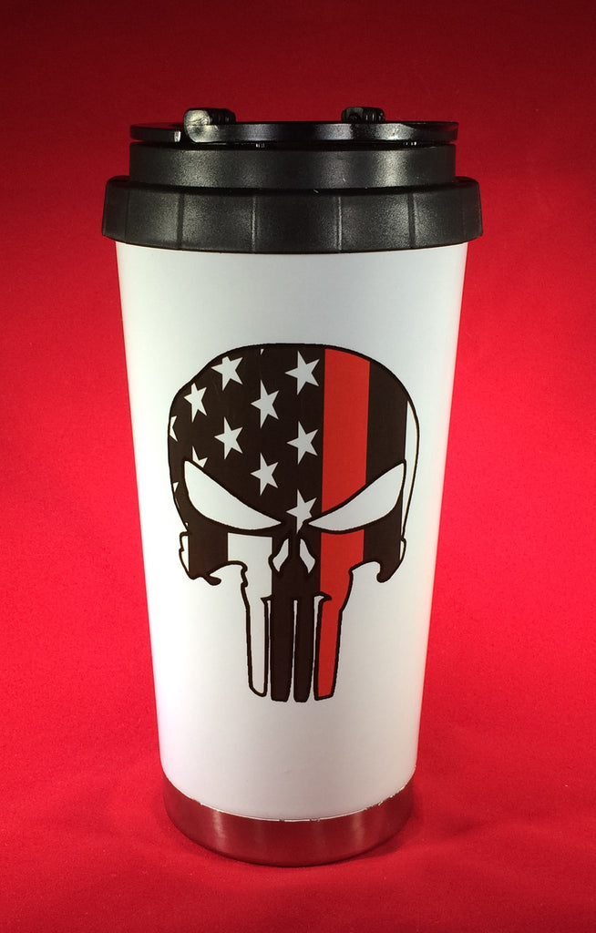 Thin Red Line Punisher Drinkware
