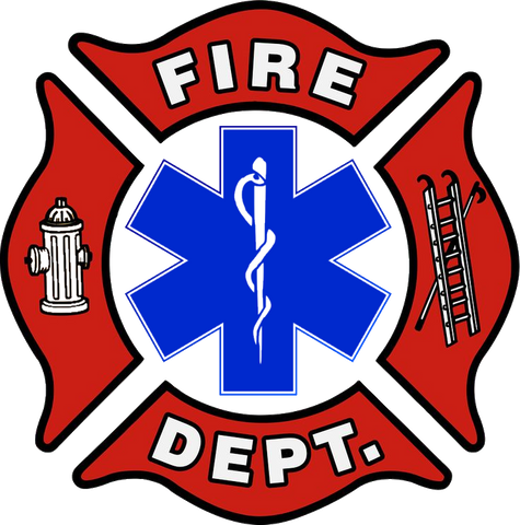 Maltese Cross - Fire/EMS Drinkware