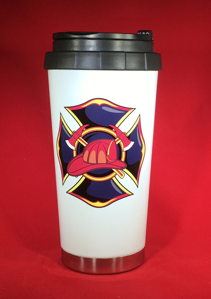 Maltese Cross with Axes Drinkware