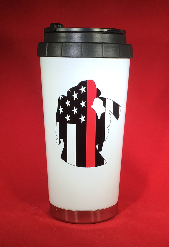 Thin Red Line Firefighter Drinkware
