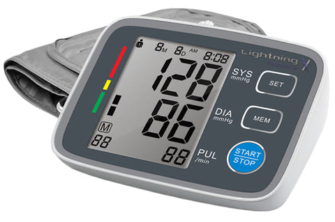 Lightning X   Automatic Digital Upper Arm Blood Pressure Monitor
