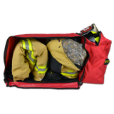 Lightning X Value Rolling Firefighter Turnout Gear Bag w/ Helmet Compartment