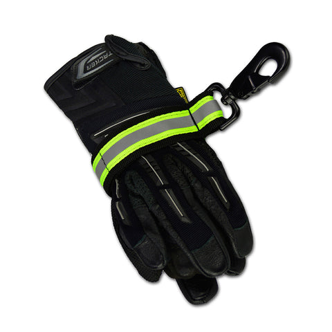 Lightning X Reflective Glove Strap - Black