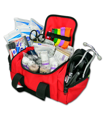 Lightning X Value Compact Medic First Responder EMT/EMS Bag with Standard Fill Kit
