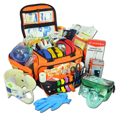Large Modular ALS Trauma Bag With Deluxe Fill Kit