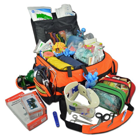 Lightning X Premium Oxygen Trauma Bag w/ Advanced Fill Kit