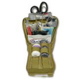 PREMIUM IFAK Gunshot Trauma & Bleeding MOLLE Kit w/ Entry-Exit Wound Supplies - LXPB25-SKX