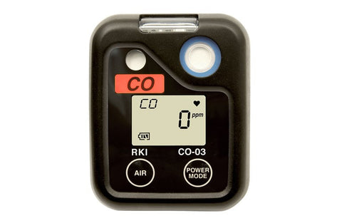 RKI O3 Series Single Gas Personal Monitor -  CO Carbon Monoxide
