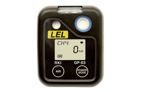 RKI O3 Series Single Gas Personal Monitor - LEL Combustibles