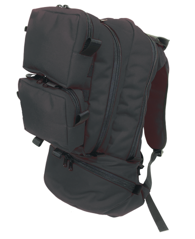Black Active Shooter Response Backpack (Empty)