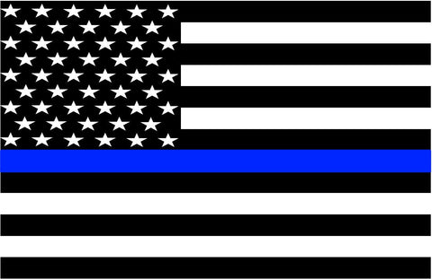 Thin Blue Line Flag Drinkware