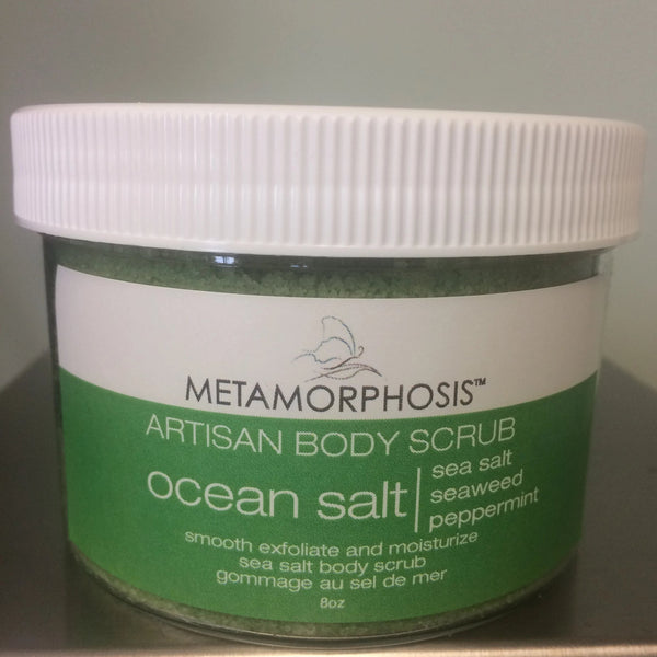 Ocean Salt Scrub with Seaweed & Mint