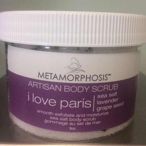 I LOVE PARIS BODY SCRUB AND MINERAL BATH SOAK