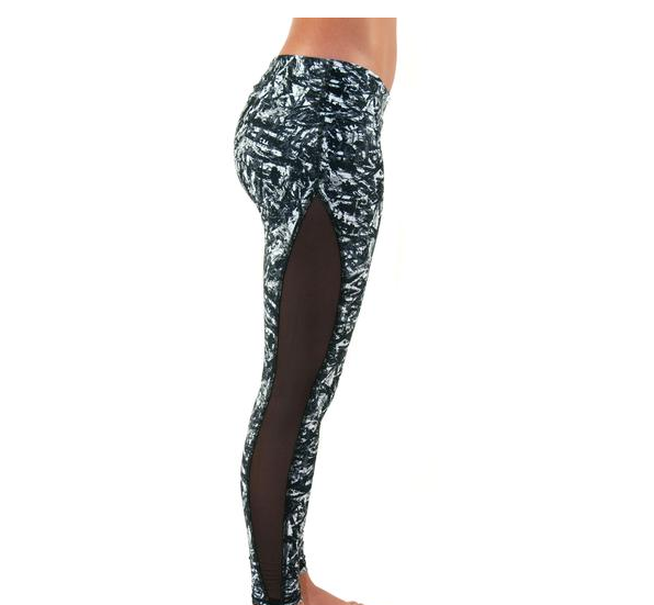 Michelle Legging-Graffiti Print