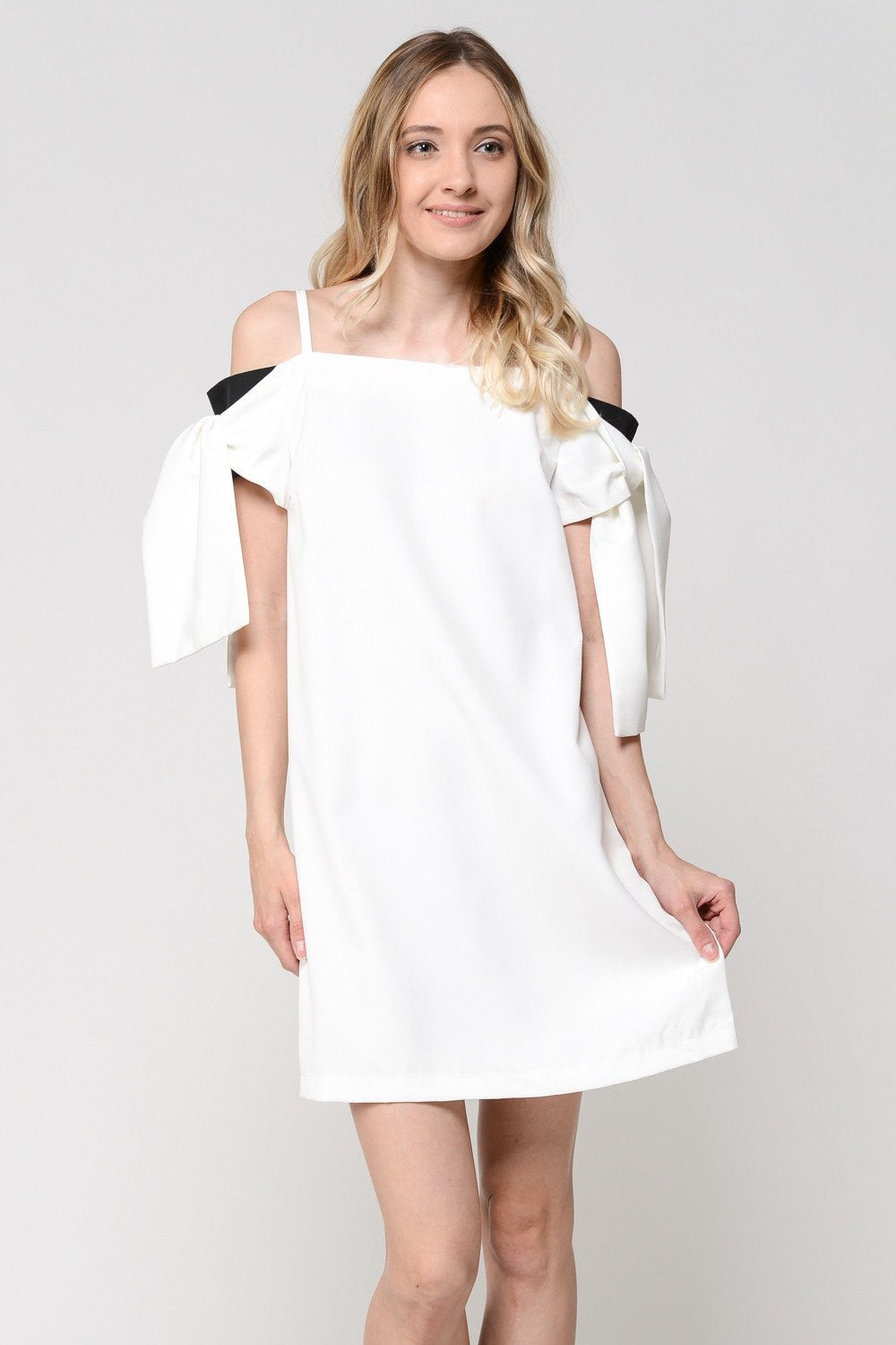 Tied Sleeve Tank Dress
