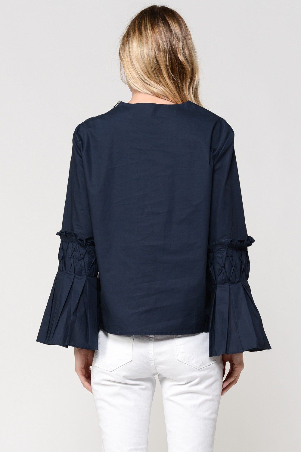Swollen Rivers Origami Blouse by Sister Jane