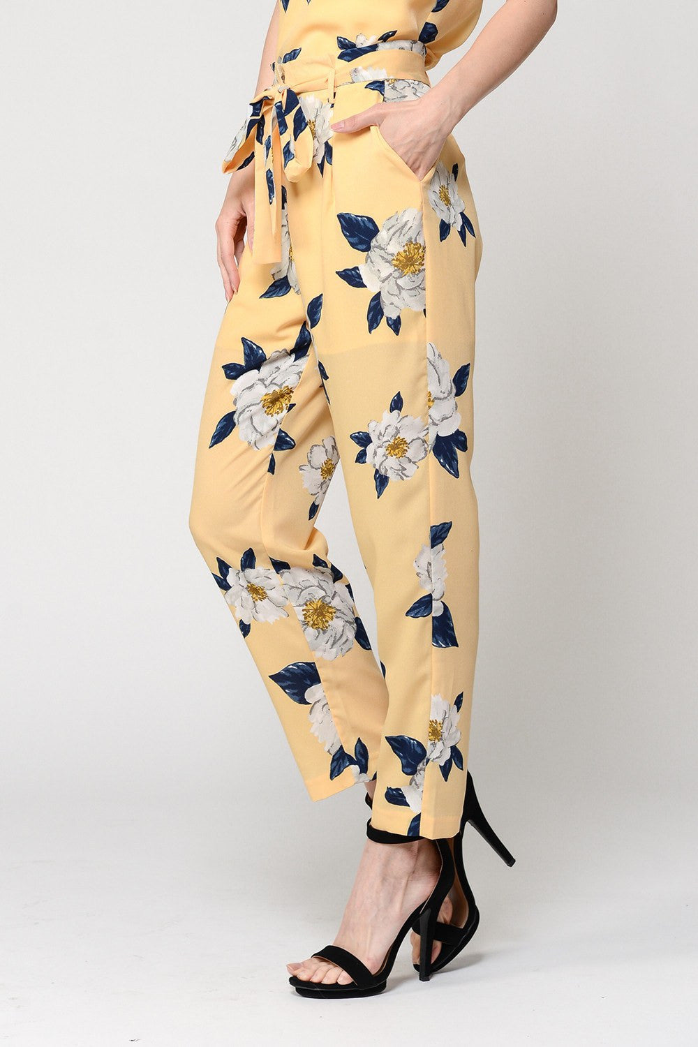 Floral Matching Pants