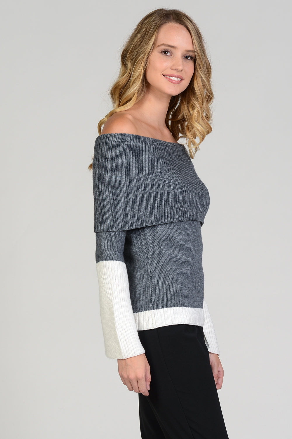 Colorblock OTS Sweater