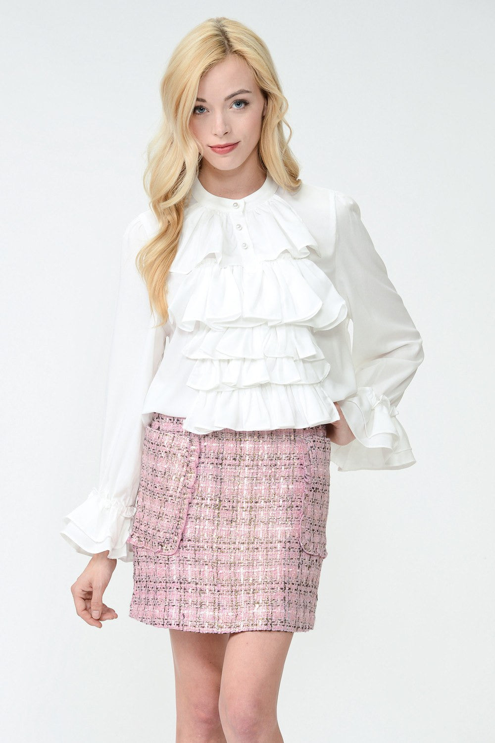 Victoriana Ruffle Blouse by Sister Jane