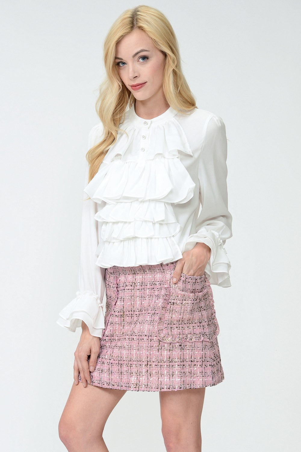 Horowitz Tweed Skirt by Sister Jane
