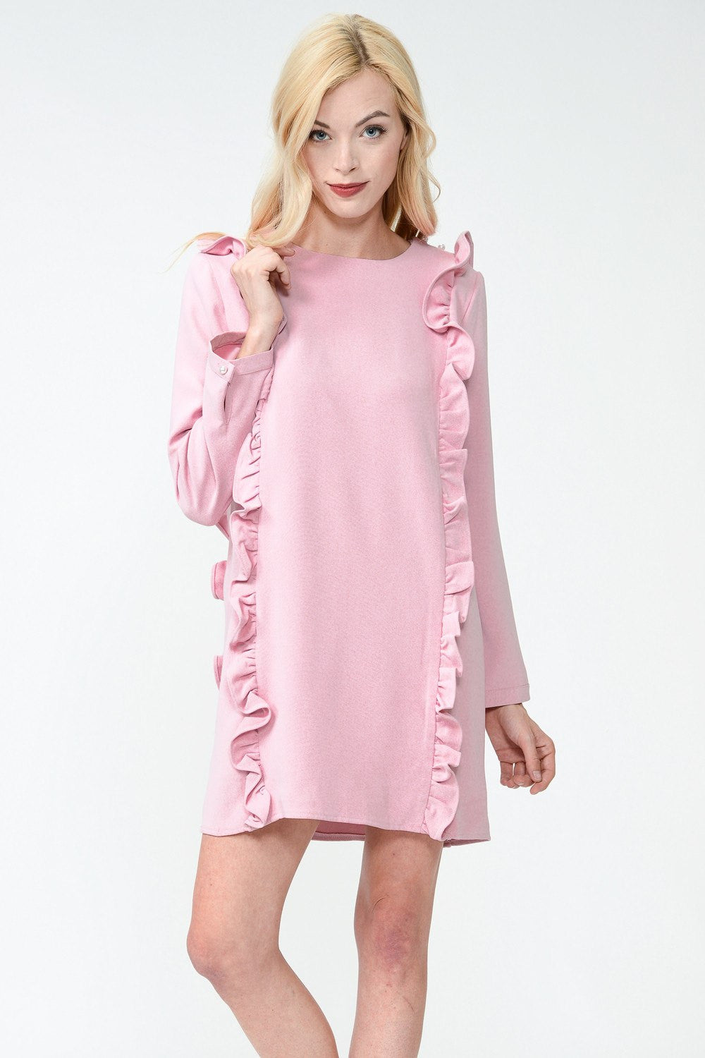 Secret Valentine Ruffle Dress by Sister Jane