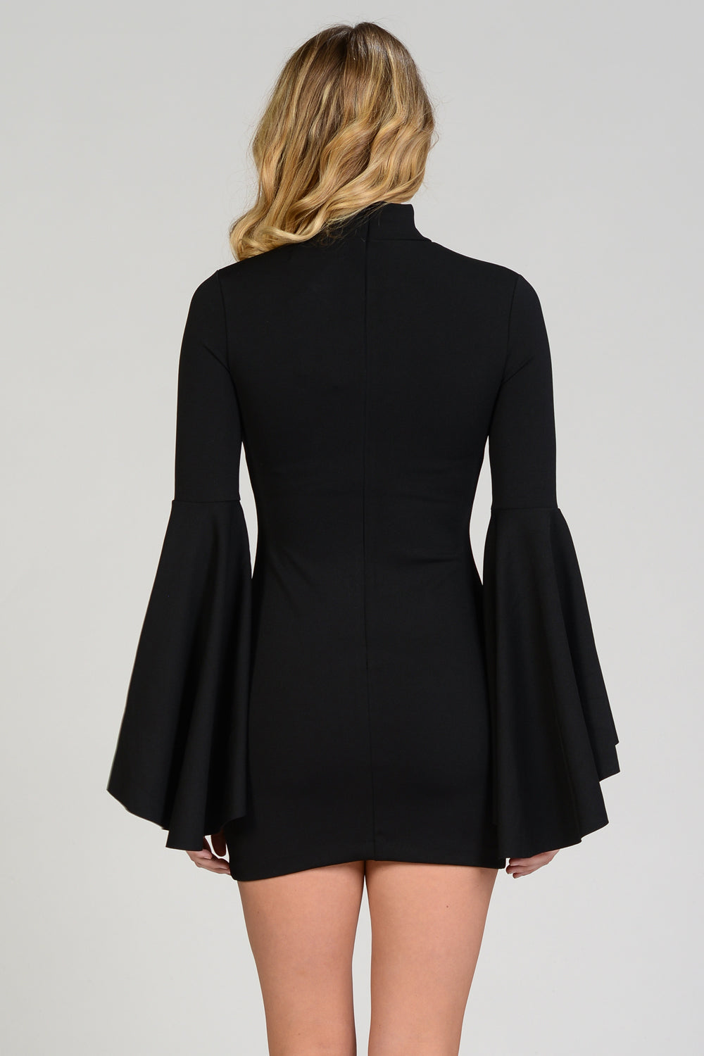 Bell Sleeve Bodycon Dress