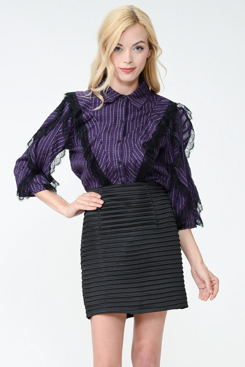 Smart Thinking Laurie Blouse by Sister Jane