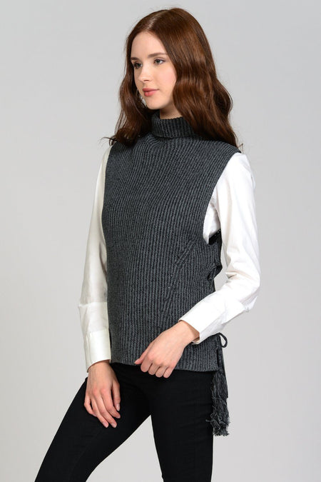 Peek-A-Boo Tie Shoulder Cardigan