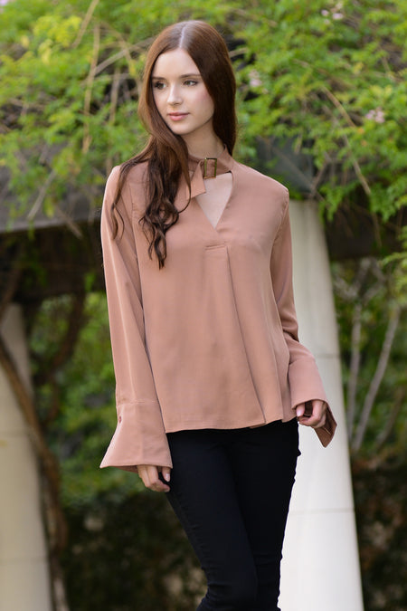 Bell Sleeve Cami Top