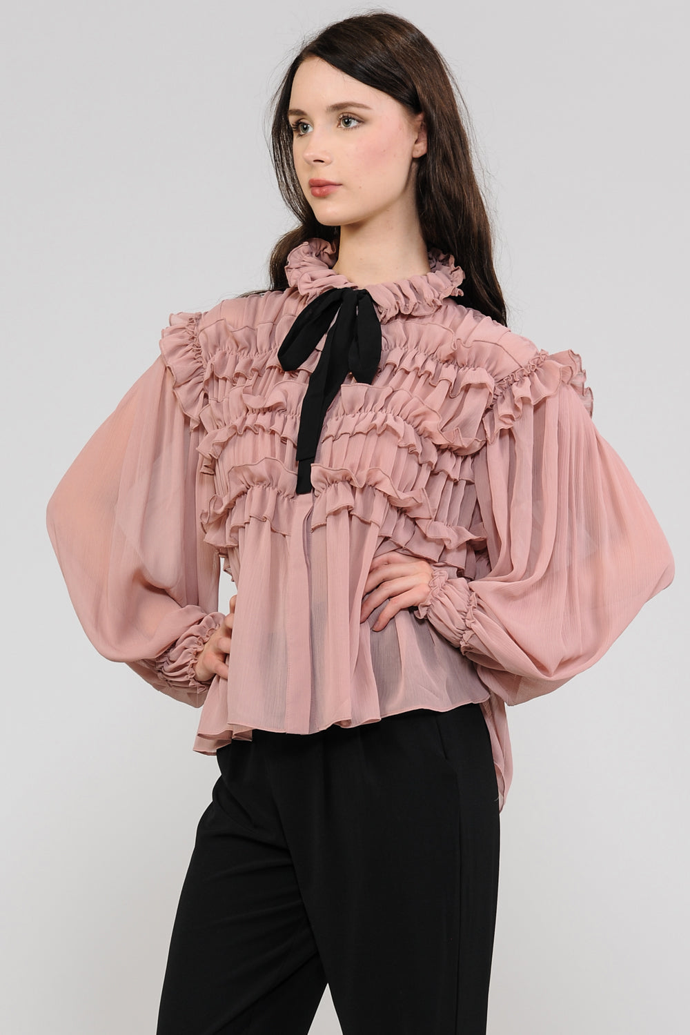 Dolly Ruffle Layer Blouse