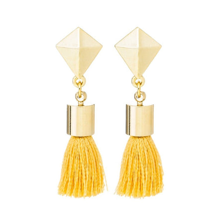 Star & Tassel Earrings