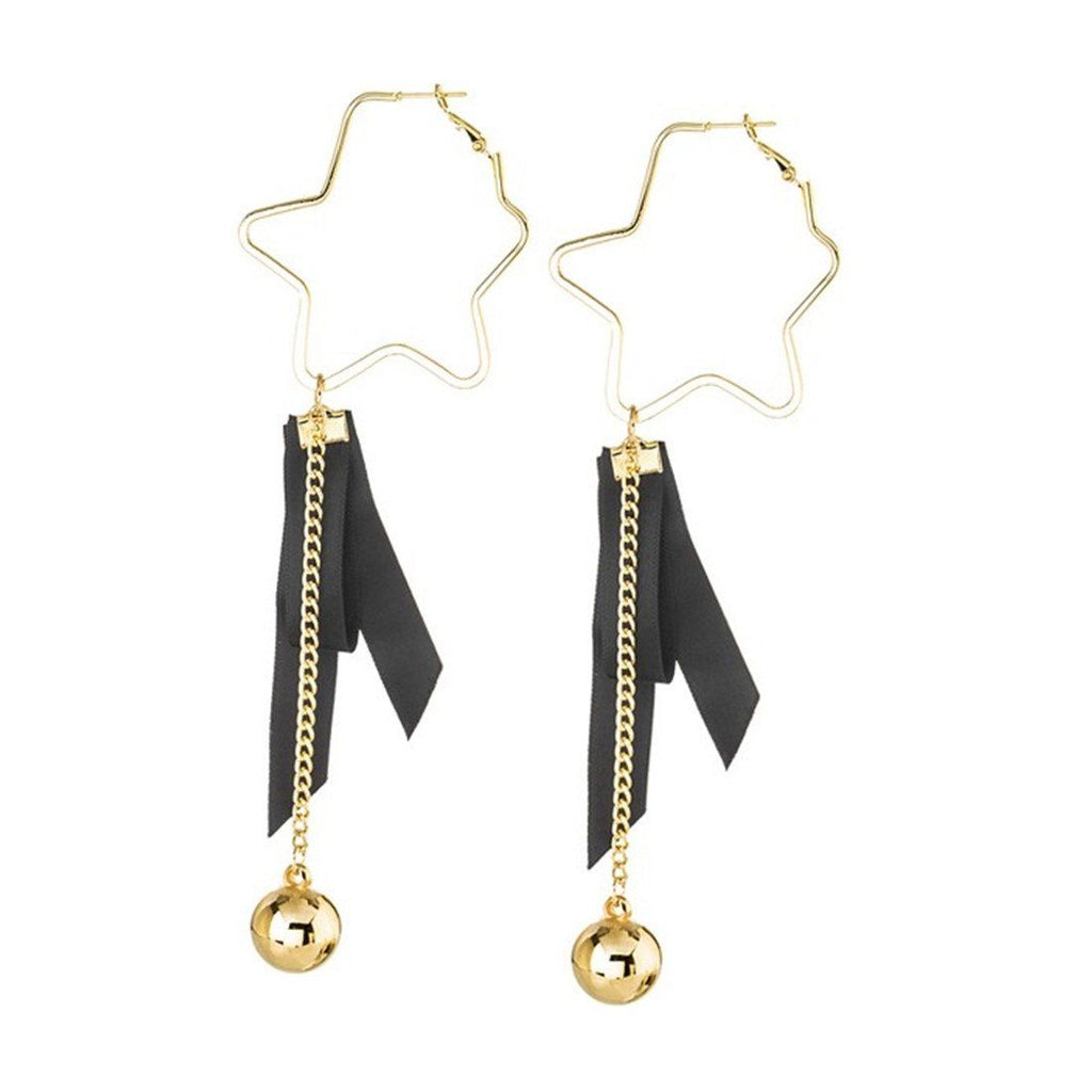 Star & Ribbon Earrings
