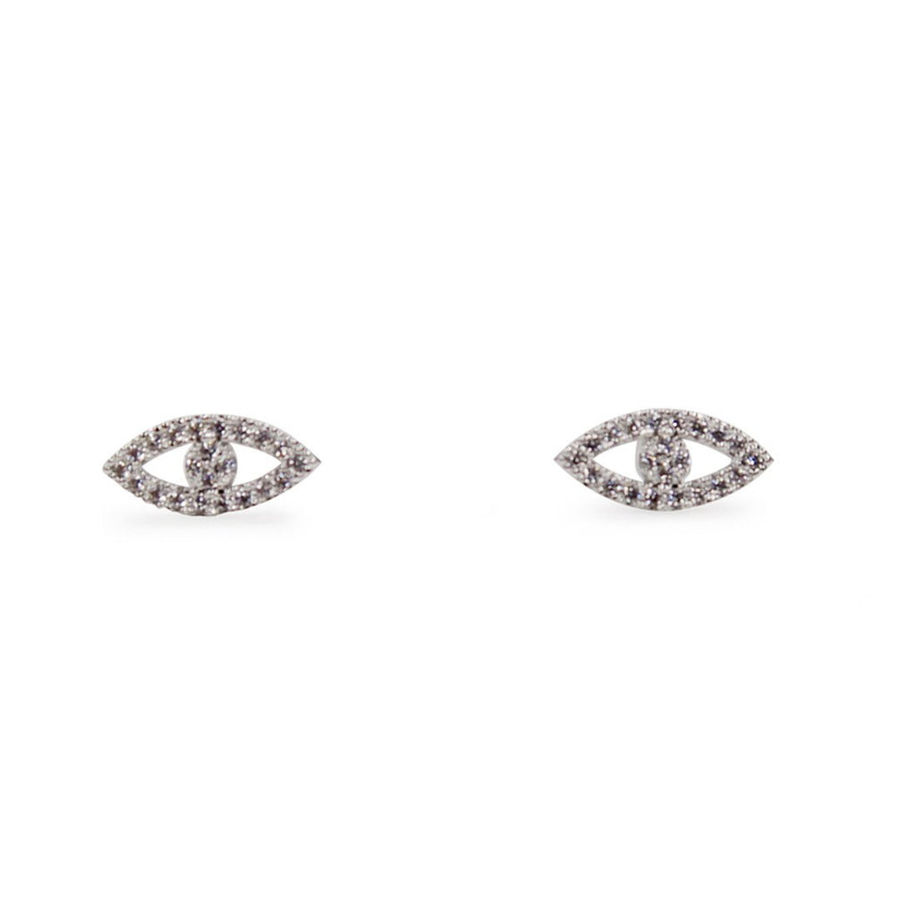 Turkish Eye Rhinestones Earrings