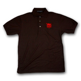 Men's UTLA Black Three Button Polo Shirt