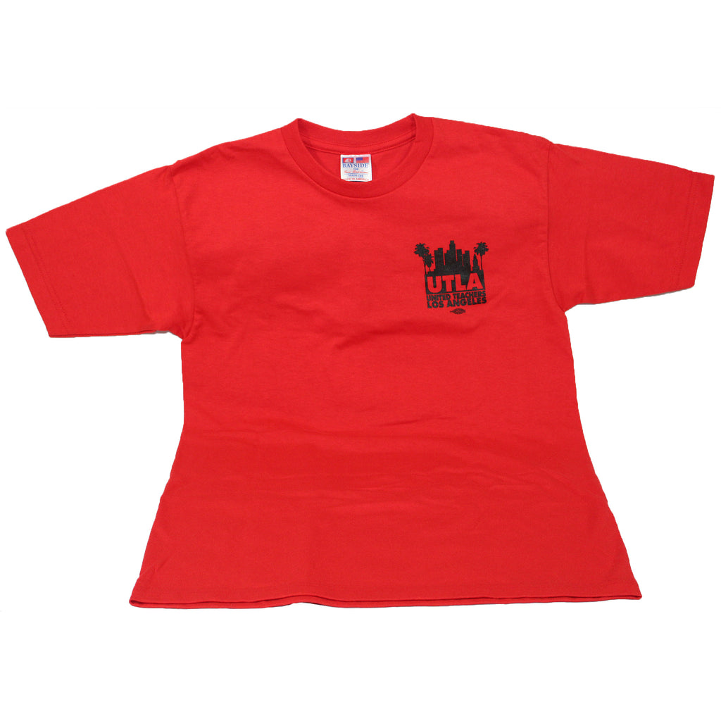 Men's UTLA Red Crew Tee